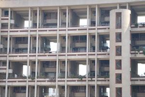 Отель с полыми структурами