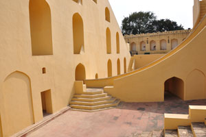 Внутренняя часть Самрат Янтры