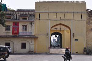 Задняя сторона ворот Триполиа