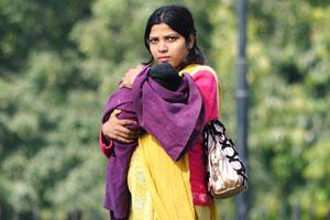 Молодая индийская женщина
