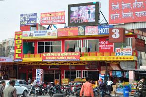Центральный автовокзал в Джайпуре