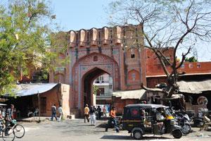 Базар Сирех Деори: обычная арка