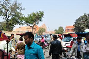 Вид на Хава Махал от Бади Чопад