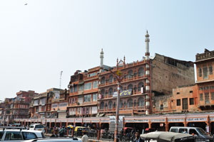 Мечеть Джами (Джама Масджид) на базаре Джохари