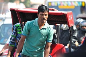 Лица Джайпура: водитель велорикши