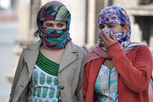 Лица Джайпура: девушки в никабах