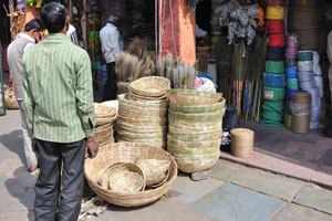 Магазин по продаже верёвок на базаре Кишанпол
