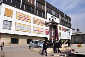 Торговый центр СиТиСи на дороге Мирза Исмаил