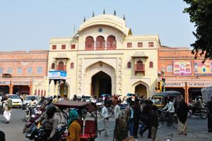 Ворота Триполиа это главный вход в древний центр города