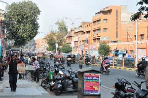 Улица Чаура Раста, направление на ворота Триполиа