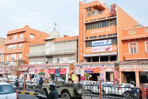 Улица Чаура Раста: кашмирские шали, предприятия Раджив