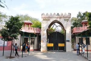 Вход в зоопарк