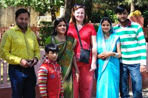 Моя жена с индийской семьей
