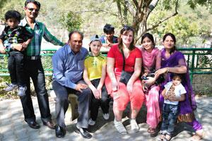 Моя семья и индийская семья