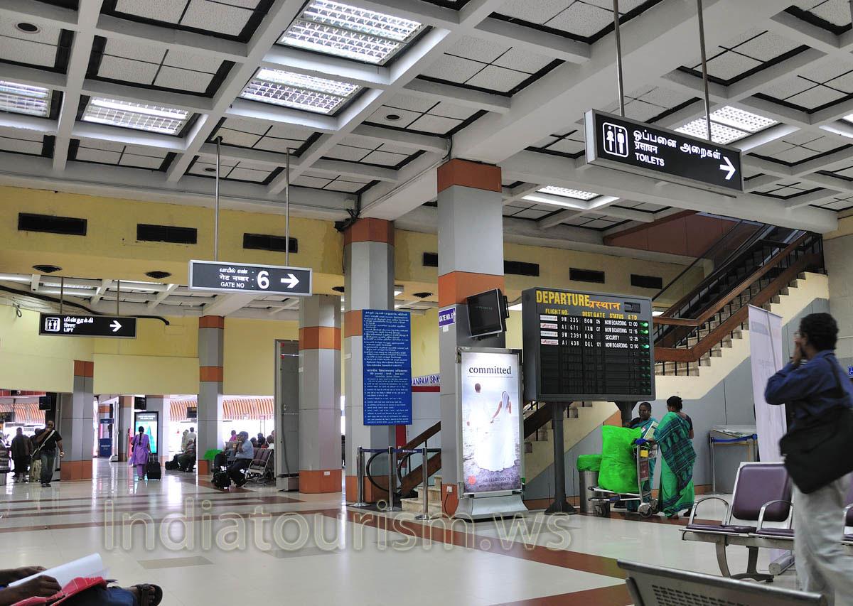 Chennai airport inside - Tamil Nadu
