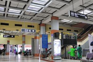 Аэропорт Ченнаи внутри