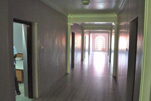 Коридор в отеле «Шивамуруган»