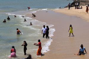 Каждый турист хочет поплавать в Индийском океане