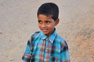 Семилетний индийский мальчик