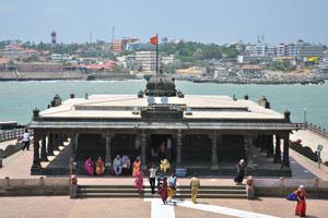 Шрипада Мандапа и Каньякумари