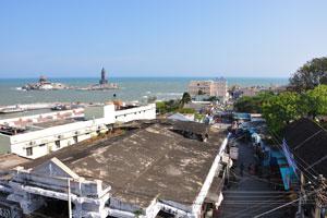 Каньякумари это невероятный город на берегу Индийского океана