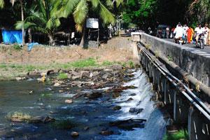 Это первый мост на пути от Каньякумари к Сучиндрам