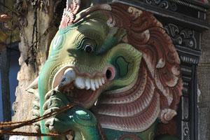 Дракон со слоновьим хоботом