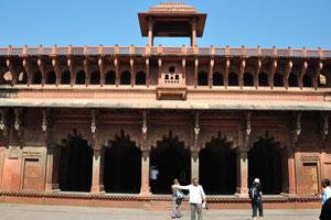 Внутренняя часть Джахангири Махал