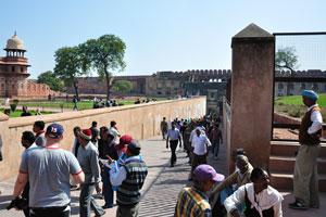 Путь к выходу из форта
