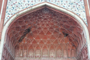Входная арка Гостевого дома