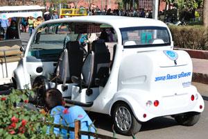 Электрические авто от Пракаш Моторс в Агре