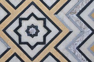 Декоративные элементы Тадж-Махала